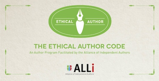 Ethical Author Code of Conduct preview from Alliance of Independent Authors